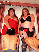 bbw facesitting and male domination